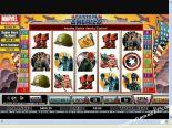 automaty zdarma Captain America CryptoLogic