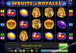 automaty zdarma Fruits and Royals Novoline