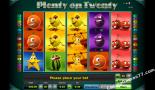 automaty zdarma Plenty on twenty Greentube